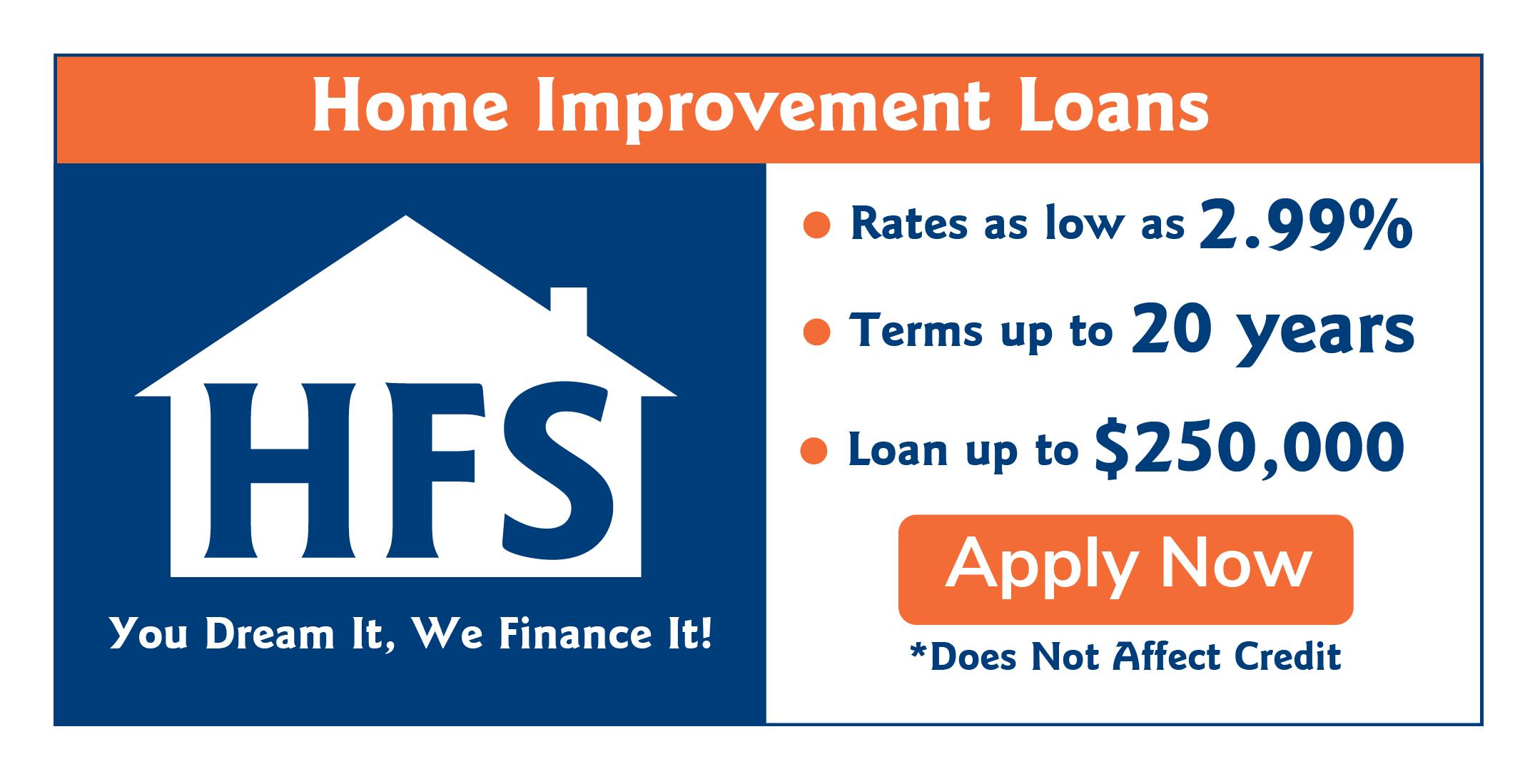 HFS Financing Application